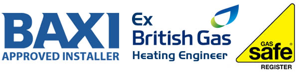baxi trained - ex british gas engineer - gas safe registered